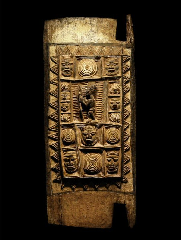 Africa palace door made by olowe of ise yoruba peoples for Yoruba architecture