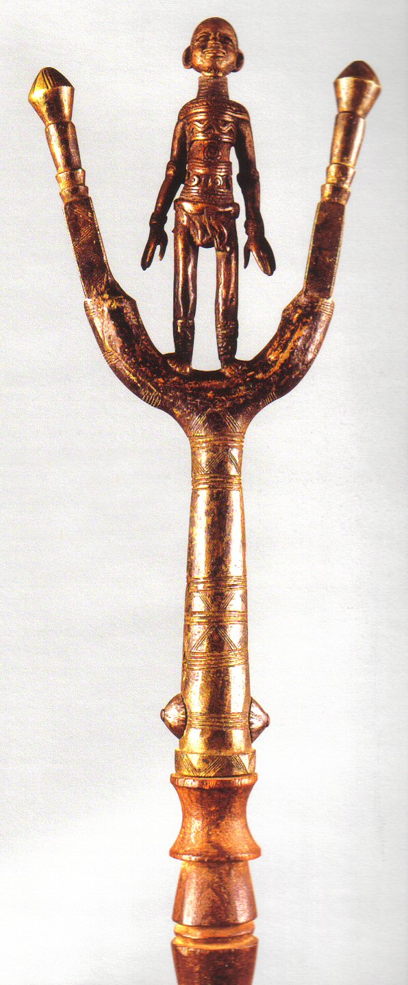 Staves Images On: Artists And Patrons In Traditional African Cultures