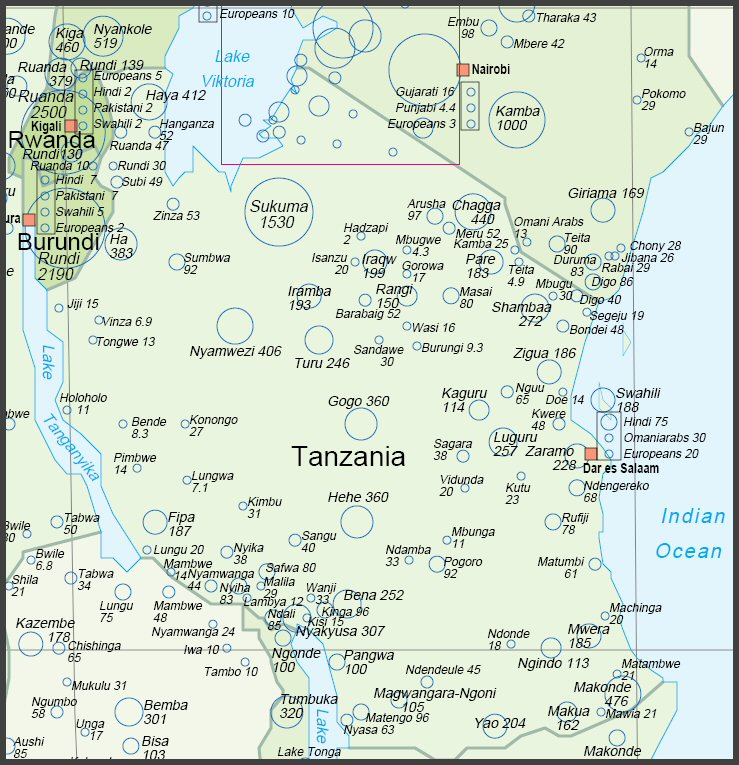 http://www.randafricanart.com/images/Tanzania_cultural_map.jpg