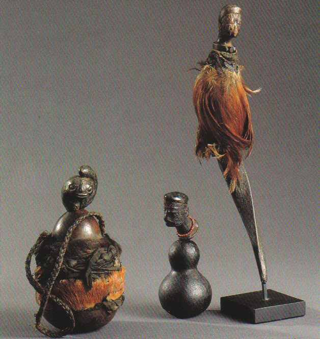 Calabash Medicine Containers From Tanzania