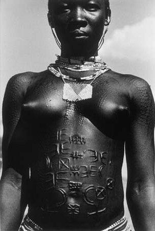 African tribal girls