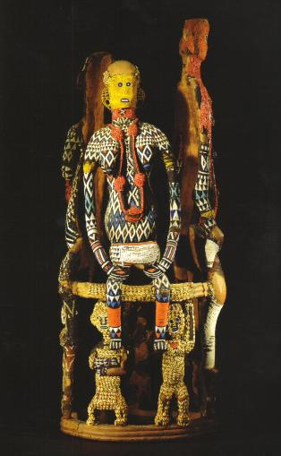 Cameroon Stool And Beaded Thrones From Cameroon Rand