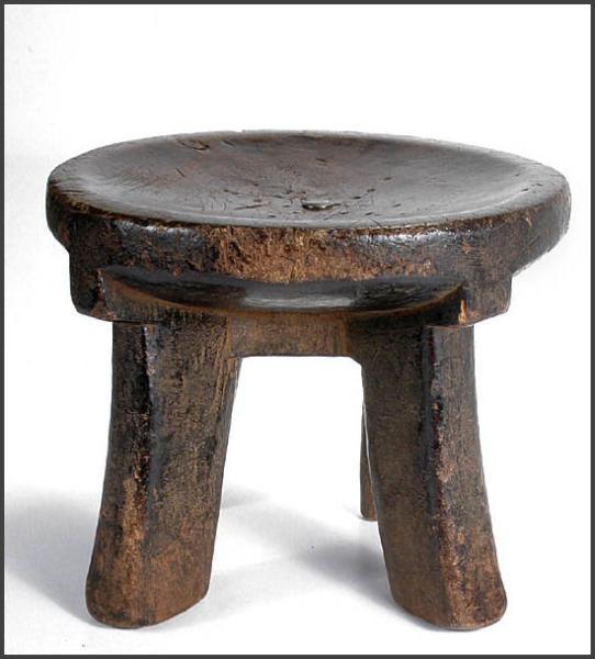 Makonde stool - RAND AFRICAN ART